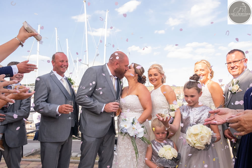 Wedding of Mr & Mrs Lyons @ The Porthouse Port Solent